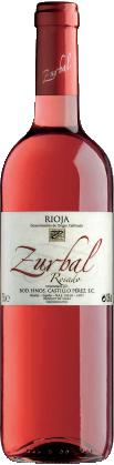 Imagen de la botella de Zurbal Rosado